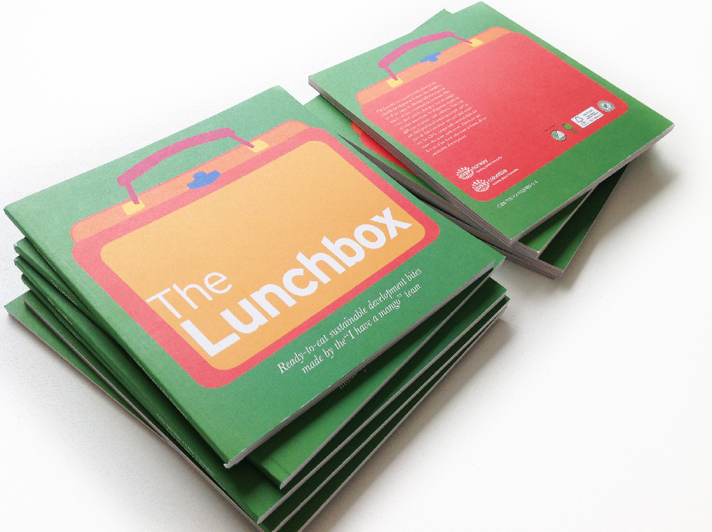 the lunchbox pile cover and back